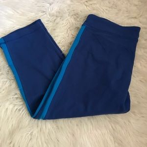 Lululemon Blue Crop Leggings